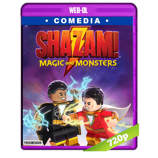 LEGO DC Shazam: Magia y Monstruos (2020) WEB-DL 720p Audio Dual Latino-Ingles