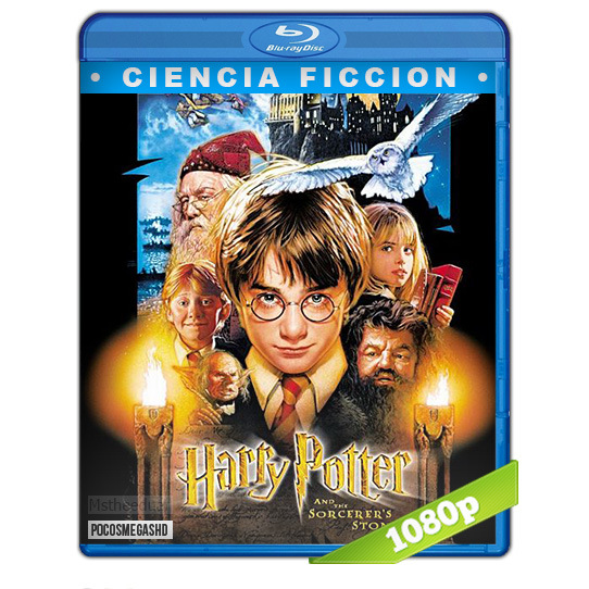 Harry Potter y La Piedra Filosofal 2001 BDRip 1080p Dual
