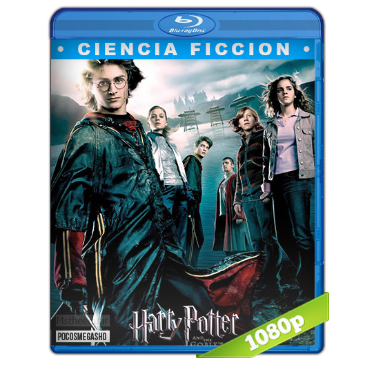 Harry Potter y el Caliz de Fuego 2005 BDrip1080p Dual