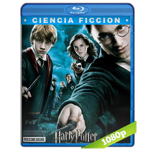 Harry Potter y la Orden del Fenix 2007 1080p BDrip Dual