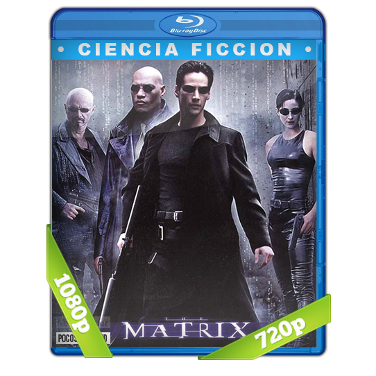 Matrix 1999 BDrip 1080p/720p Dual Latino