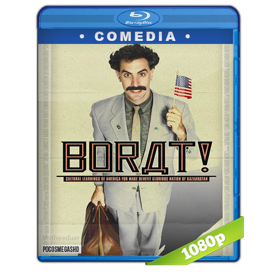Borat 2006 BRrip 1080p Dual Latino