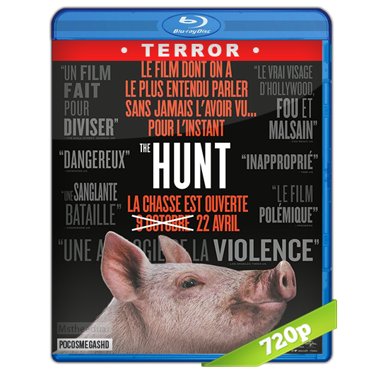The Hunt 2020 720p BRrip Dual Latino