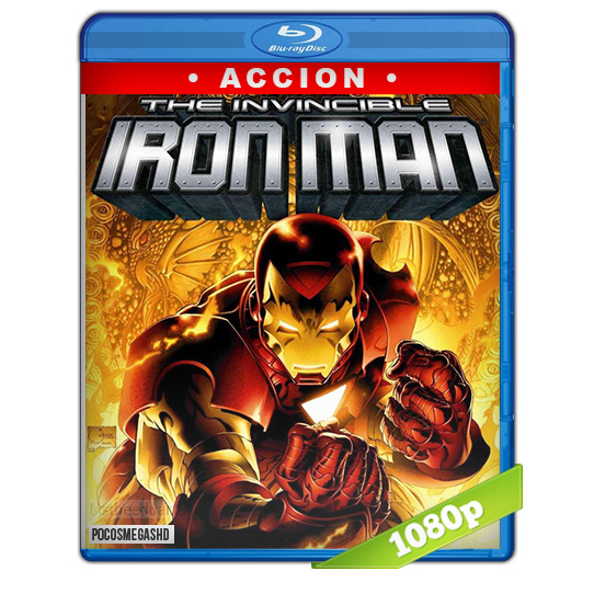 Iron Man: El invencible (2007) 1080p BDrip Dual Latino