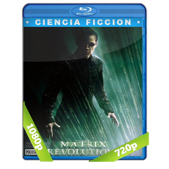 Matrix Revolucion BDrip 1080p/720p Dual Latino