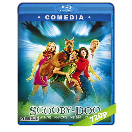 Scooby Doo (2002) BRrip 720p Dual Latino