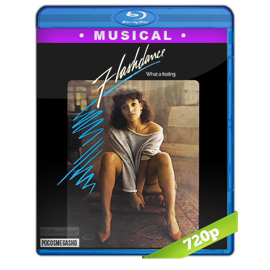 Flashdance 1983 BDrip 720p Dual Latino