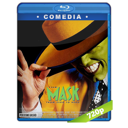 La Mascara 1994 BDrip 720p Dual Latino