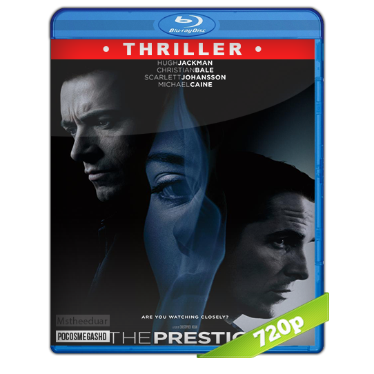 The Prestige (2006) 720p BRrip Dual Latino