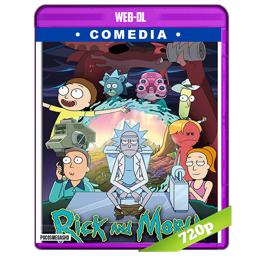 Rick and Morty Temporada 4 2019 WEB-DL 720p Subtitulada