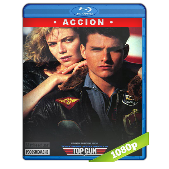 Top Gun (1986) BDrip 1080p Dual Latino